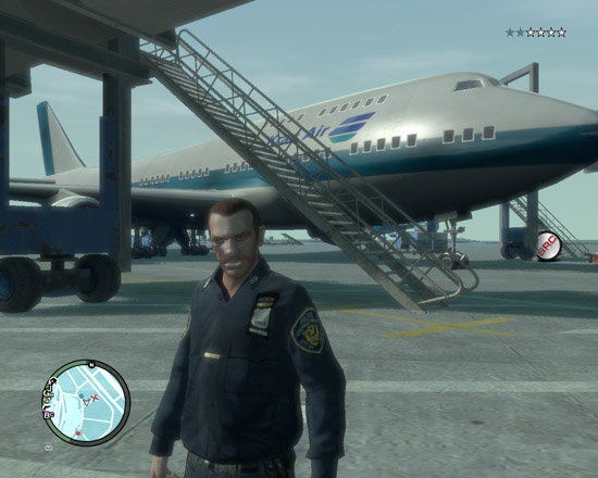 Boening 747-400 Kras Air самолёты для GTA 4