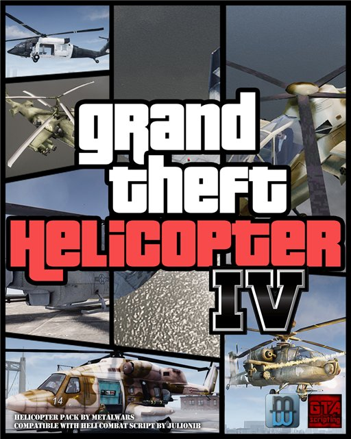 Helicopter Mod Pack